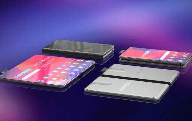 Ngắm bản concept smartphone màn hình gập của Oppo - 4