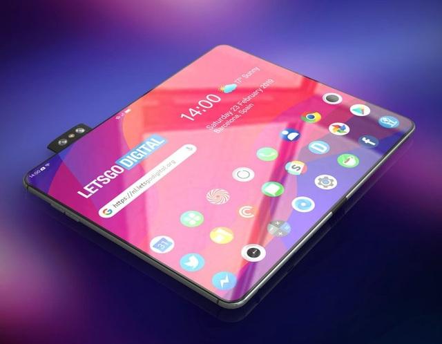 Ngắm bản concept smartphone màn hình gập của Oppo - 3