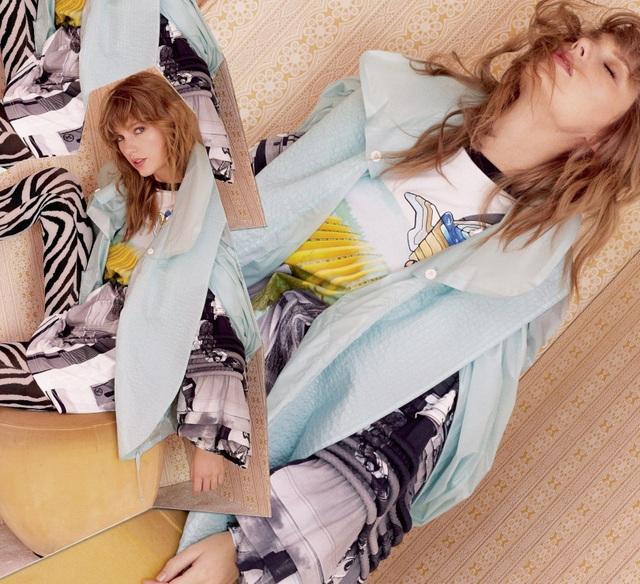 Taylor Swift xinh đẹp tái xuất  - 4