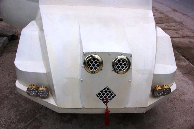 """9x Nghệ An tự chế """"siêu xe"""" từ động cơ xe máy - 1"""
