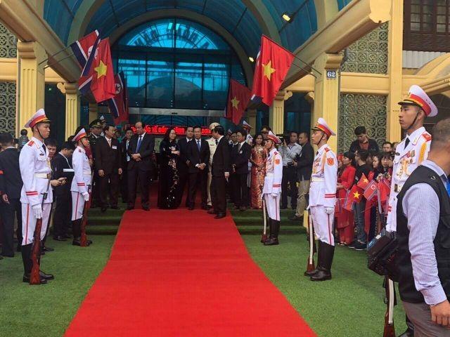 Xem lại hình ảnh lần đầu tiên Việt Nam đón - tiễn nguyên thủ quốc gia tại ga tàu hỏa - 14