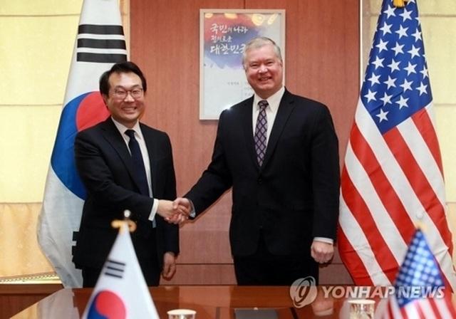 Phái viên hạt nhân Hàn Quốc đến Mỹ bàn về Triều Tiên sau thượng đỉnh không thỏa thuận - 1