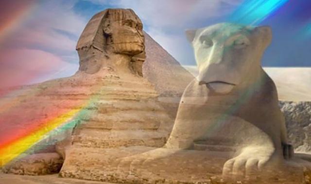 Tượng nhân sư nổi tiếng ở Ai Cập có thể ban đầu có gương mặt… sư tử - 1