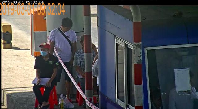 Cảnh sát, an ninh kinh tế cùng tham gia kiểm tra trạm BOT Ninh Lộc - 1
