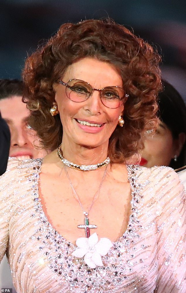 Sophia Loren bất ngờ tái xuất - 2