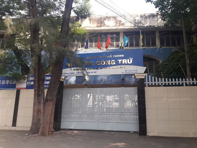 Nổ bình gas mini trong cuộc thi nấu ăn ở trường, hai học sinh bị thương - 1