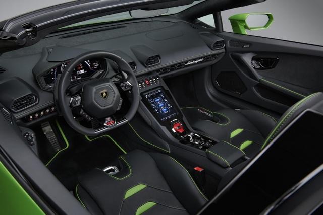 Lamborghini Huracan Evo Spyder - Hoàn hảo đến từng chi tiết - 7