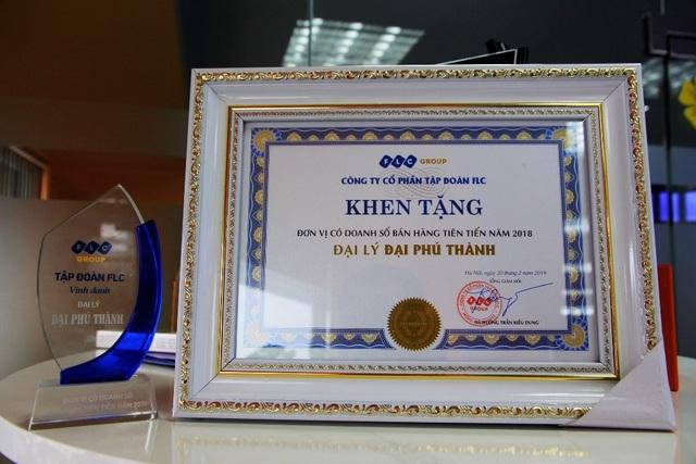 Đại Phú Thành nhận danh hiệu đại lý tiên tiến từ tập đoàn FLC - 2