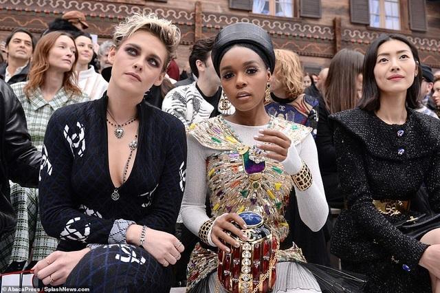 Kristen Stewart nổi bật trong show của Chanel, người mẫu rơi lệ trên sàn catwalk  - 3