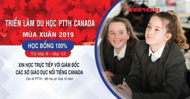 Triển lãm du học phổ thông trung học Canada mùa xuân 2019  - 1