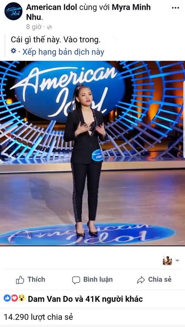 Hồ Quỳnh Hương nói gì tiết mục gây sốt của học trò Minh Như tại American Idol? - 3