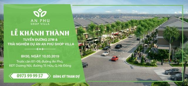 Tập đoàn Nam Cường tổ chức Lễ Khánh thành tuyến đường 27m và trải nghiệm Dự án An Phú Shop-villa - 1