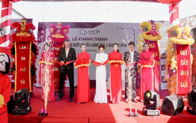 Queenie Skin khánh thành nhà máy mỹ phẩm chuẩn CGMP - 1