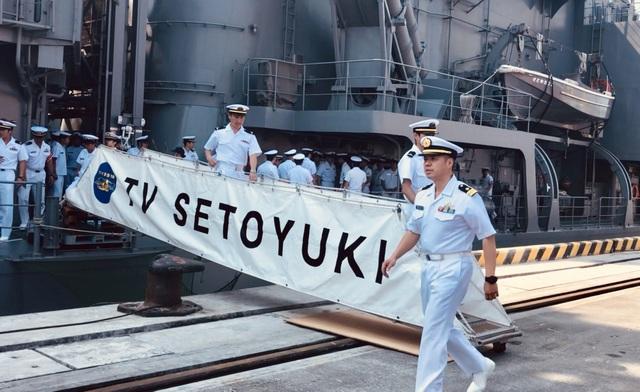 Tàu huấn luyện của lực lượng tự vệ trên biển Nhật Bản thăm Đà Nẵng - 3