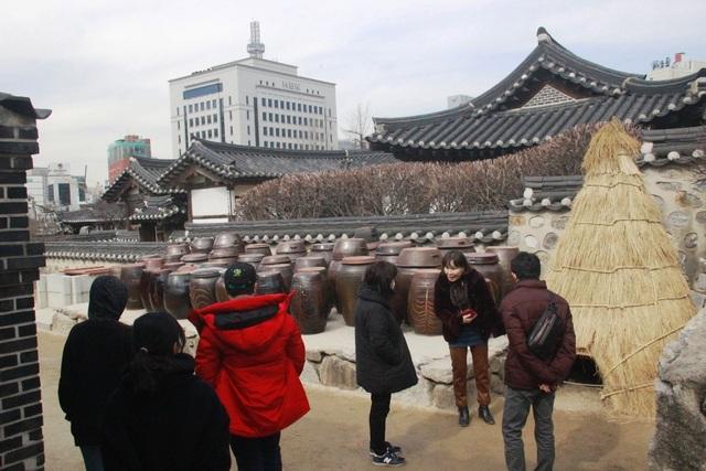 Vẻ đẹp bí ẩn của làng cổ Hanok Namsan Hàn Quốc - 12