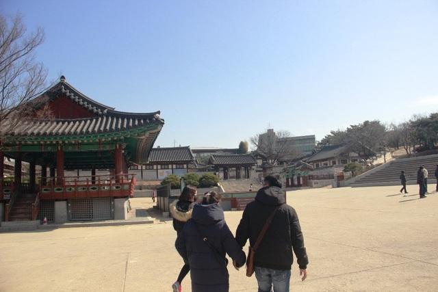 Vẻ đẹp bí ẩn của làng cổ Hanok Namsan Hàn Quốc - 2