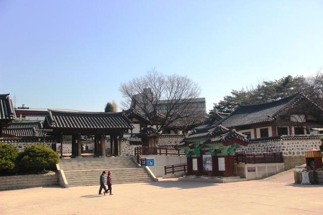 Vẻ đẹp bí ẩn của làng cổ Hanok Namsan Hàn Quốc - 3