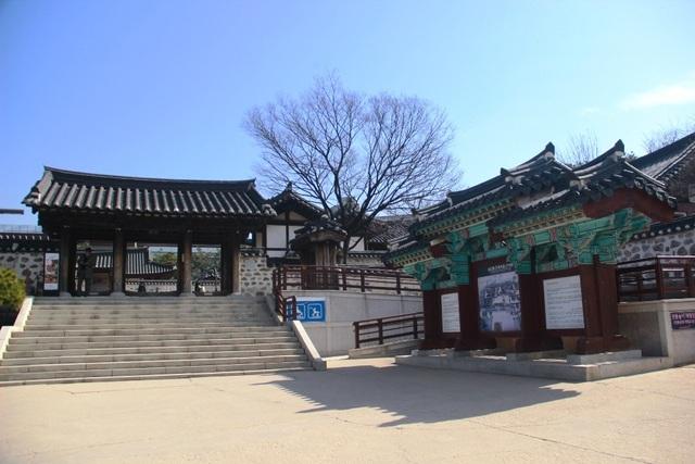 Vẻ đẹp bí ẩn của làng cổ Hanok Namsan Hàn Quốc - 4
