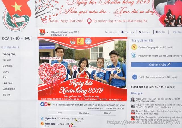 Giảng viên, sinh viên ĐH Công nghiệp Hà Nội hiến tặng gần 2000 đơn vị máu  - 4