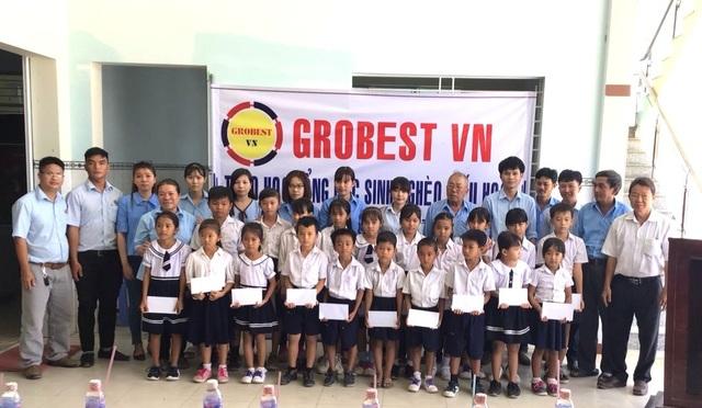 Trao 400 suất học bổng Grobest đến học sinh nghèo tỉnh Sóc Trăng - 3