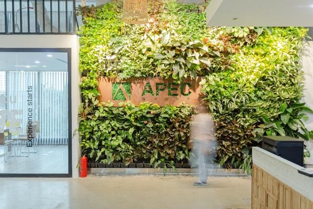 Không gian văn phòng chú trọng tính sáng tạo của Tập đoàn Apec - 1