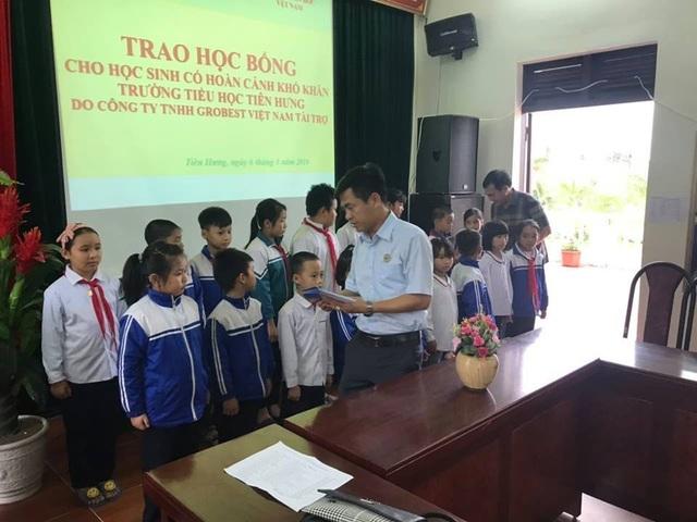 50 suất học bổng Grobest Việt Nam đến với học sinh nghèo Hải Phòng - 2