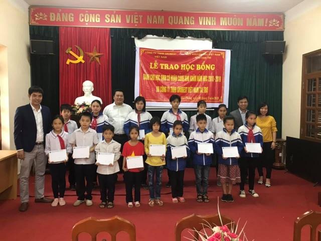 50 suất học bổng Grobest Việt Nam đến với học sinh nghèo Hải Phòng - 1