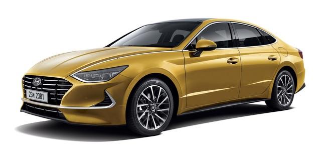 Hyundai Sonata thế hệ mới - Lột xác thành coupe 4 cửa - 1