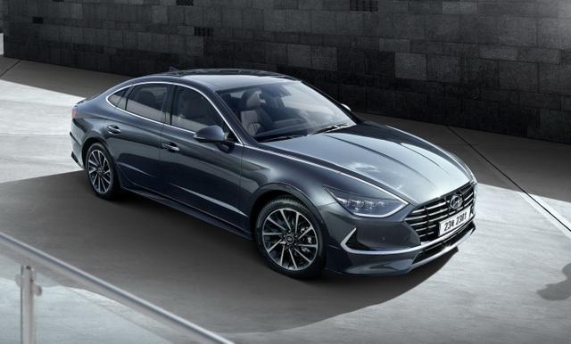Hyundai Sonata thế hệ mới - Lột xác thành coupe 4 cửa - 4