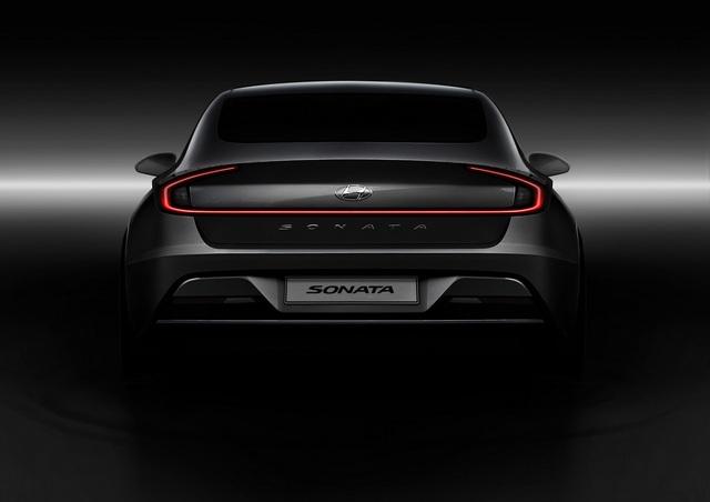 Hyundai Sonata thế hệ mới - Lột xác thành coupe 4 cửa - 9