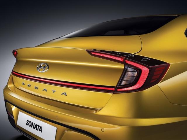 Hyundai Sonata thế hệ mới - Lột xác thành coupe 4 cửa - 2