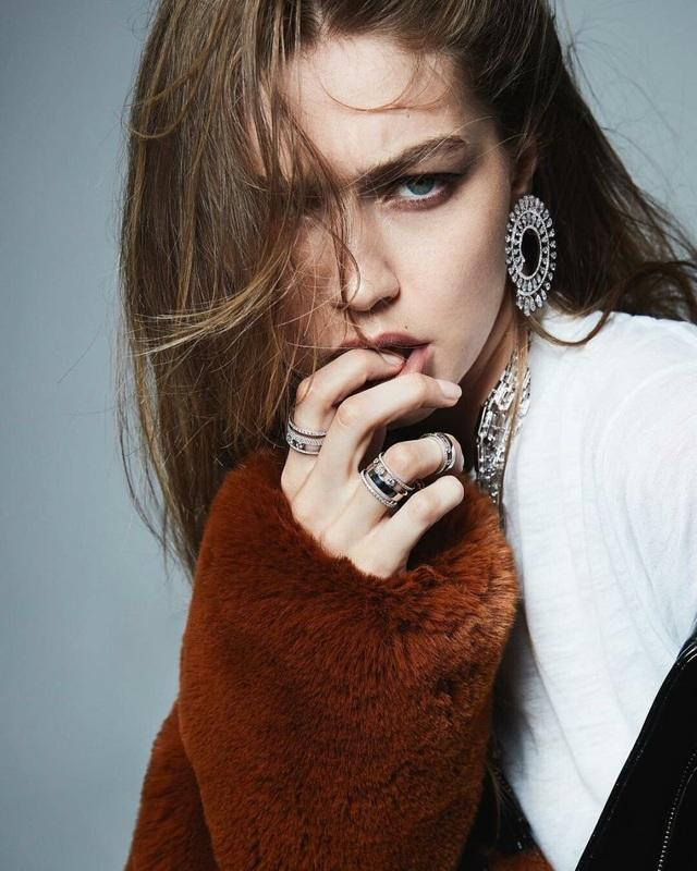 Gigi Hadid ngày càng xinh đẹp và mạnh mẽ - 4
