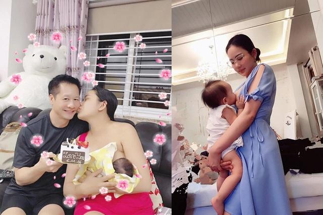 Khoảnh khắc đẹp của sao nữ Việt khi khoe ảnh... đang cho con bú - 5