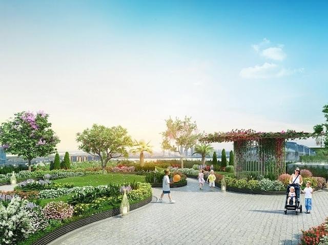 Imperia Sky Garden – Nơi cuộc sống lãng mạn ngập tràn sắc xanh