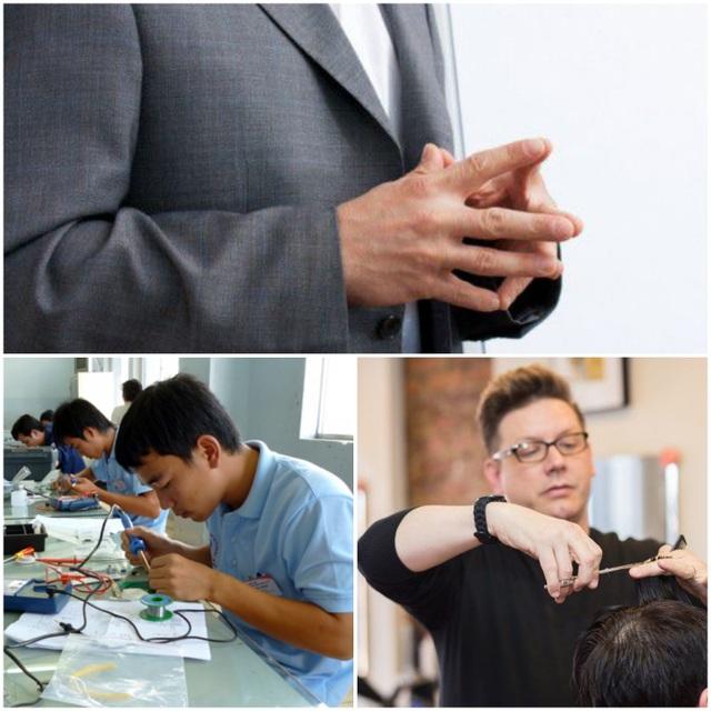 Con chọn nghề điện tử, bố mẹ thích nghề cắt tóc, đưa ra lời khuyên thế nào? - 1