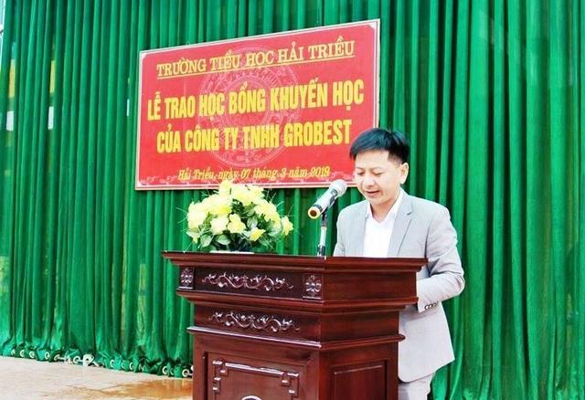Trao 120 suất học bổng Grobest Việt Nam đến học sinh nghèo Nam Định, Ninh Bình - 1
