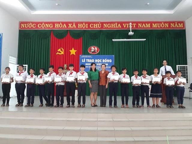 70 suất học bổng Grobest Việt Nam đến với học sinh nghèo Đồng Nai - 2