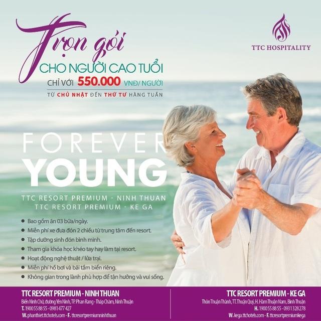 Forever Young - để tuổi già không phải là thời hối tiếc - 1