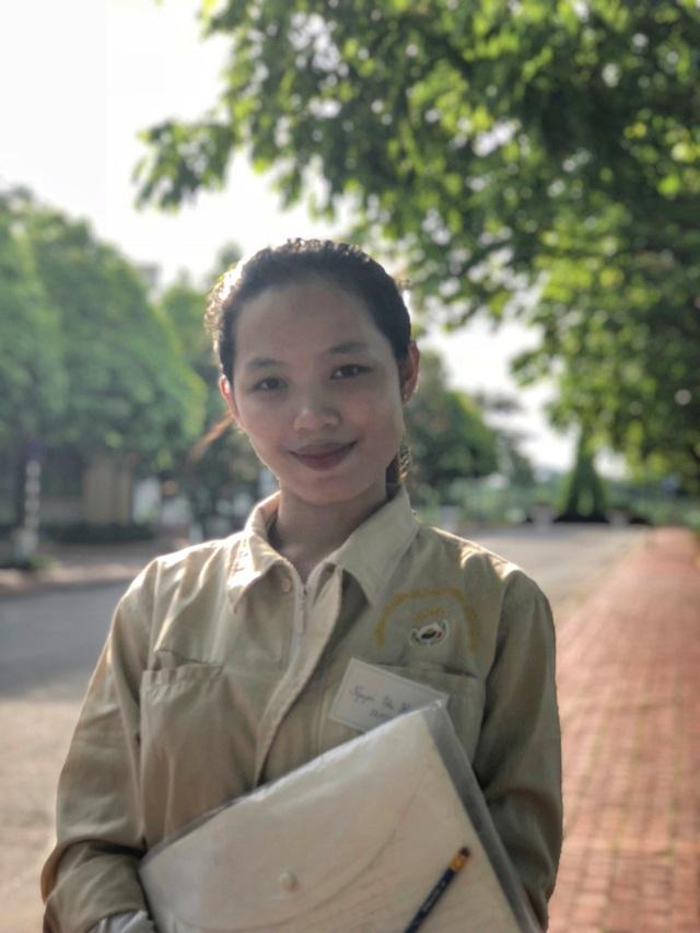 Ngưỡng mộ nữ sinh 2 lần trở thành Thủ khoa trường ĐH Thủy Lợi - 2