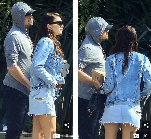 Leonardo DiCaprio ra phố cùng bạn gái kém 23 tuổi - 4