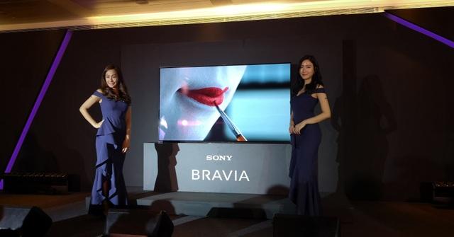 """Sony giới thiệu TV Bravia với khả năng chiết xuất """"âm thanh từ hình ảnh""""  - 1"""