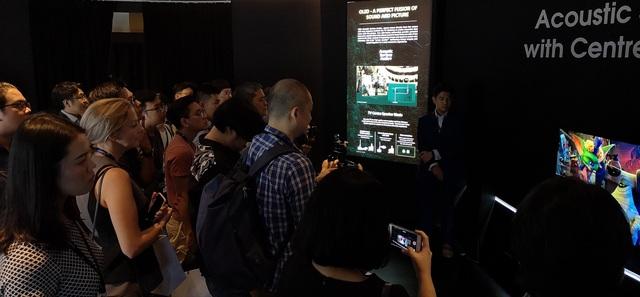 """Sony giới thiệu TV Bravia với khả năng chiết xuất """"âm thanh từ hình ảnh""""  - 10"""