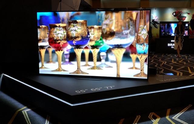 """Sony giới thiệu TV Bravia với khả năng chiết xuất """"âm thanh từ hình ảnh""""  - 2"""