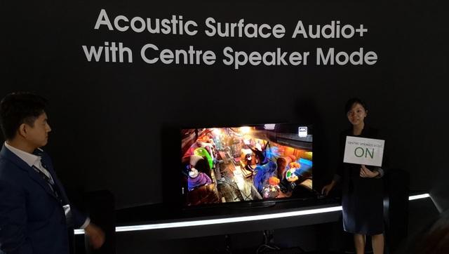 """Sony giới thiệu TV Bravia với khả năng chiết xuất """"âm thanh từ hình ảnh""""  - 9"""