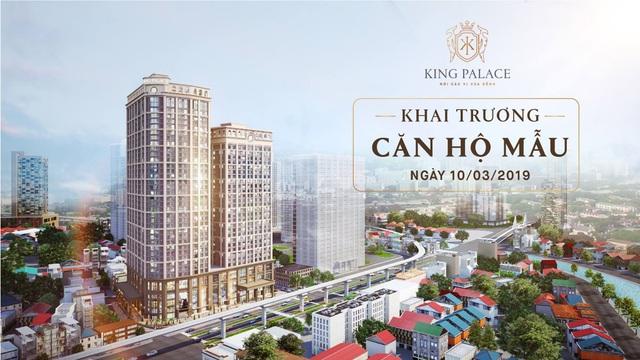 Vì sao căn hộ mẫu King Palace được mong đợi? - 1