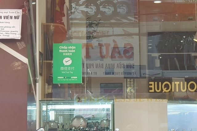 Nha Trang: Cửa hàng vẫn công khai thanh toán qua Wechat Pay với khách Trung Quốc - 4