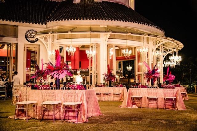 Những hình ảnh xa xỉ trong tiệc cưới của cặp tỷ phú Ấn Độ tại Phú Quốc  - 1