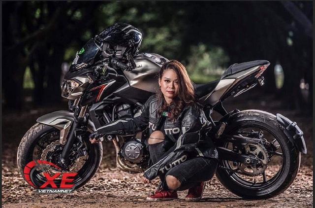 Quý cô Hà Nội chơi mô tô ngầu và chất khiến nam nhân phải nể phục - 3