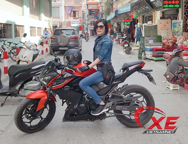 Quý cô Hà Nội chơi mô tô ngầu và chất khiến nam nhân phải nể phục - 4