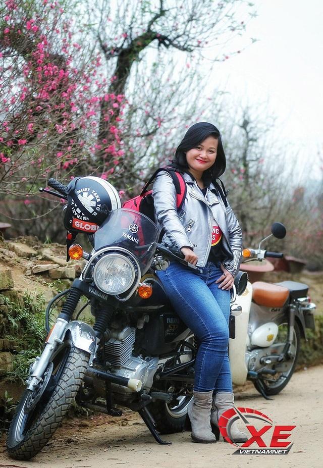 Quý cô Hà Nội chơi mô tô ngầu và chất khiến nam nhân phải nể phục - 6
